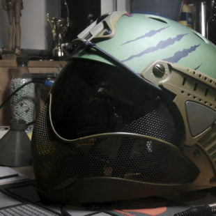 Warq helmet. Une putain de bonne idée…